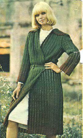 Описание: вязаные пальто со схемами Вязание.
