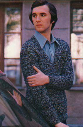 мужской пуловер вязание спицами схема.