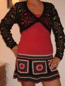 Болеро и юбка