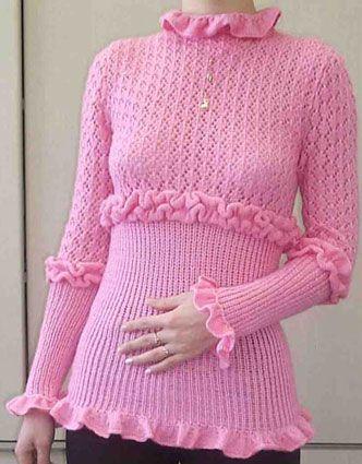 Источник. вязание из Knit&Mode 2007_11 ... шапочка из мохера связана болгарской резинкой 2*1: Метки.
