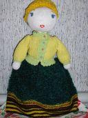 Кукла в берете