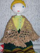 Кукла с накидкой