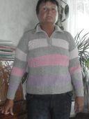 Пуловер с молнией