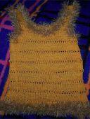 Вязанная маечка