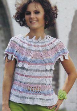 Вяжем вместе: Схемы вязания летних кофточек спицами в Питере