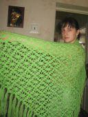Зеленая шаль