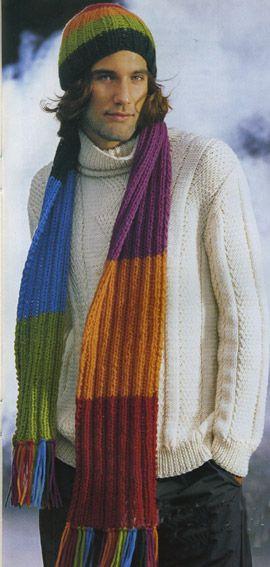 шапки осень-зима 2011-2012. Вязаные цветы