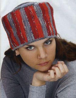 Вязание спицами шапки шапочки береты женские бесплатно.  Часть.