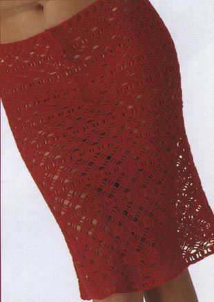 вязание крючком пляжная вязаная мода.