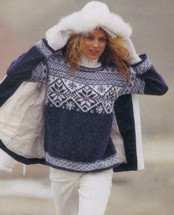 Вязаный свитер с оленями великалепно дополнит и украсит гардероб, а так же придаст Вашему образу и стилю уникальности...