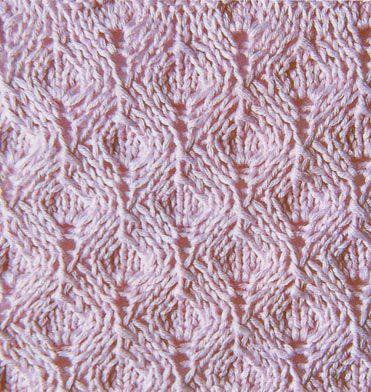 узоры вязание спицами схемы с