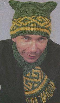 Комментарий: вязание спицами шапок для малышей до.