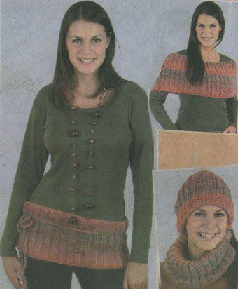 как связать шапку трубу - Выкройки одежды для детей и взрослых.