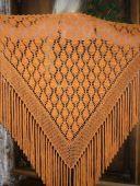 Оранжевая шаль
