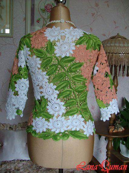 спицами со схемами вязаные модные