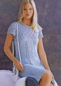diana_10_mod5_b_250.  Комментарий на Вязание спицами: платье с ажурной кокеткой.