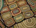 Деревенские половики и вязаные коврики