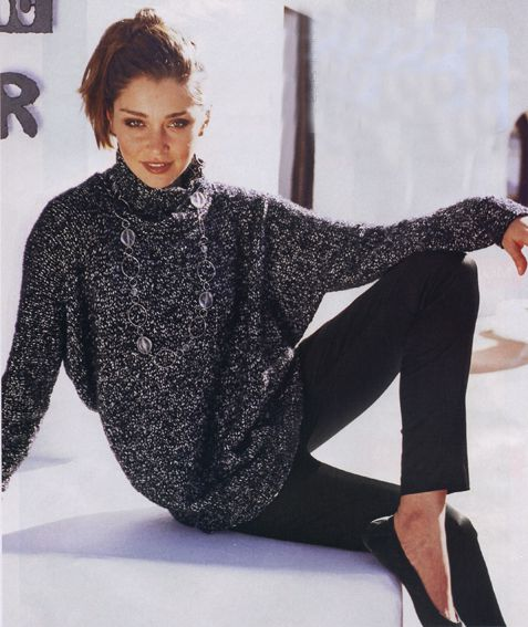 мужской свитер инструкция и схема