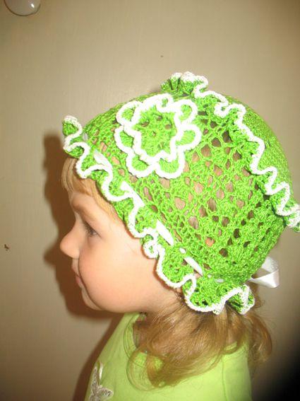 шапка труба с описанием как связать - Выкройки одежды для детей и...