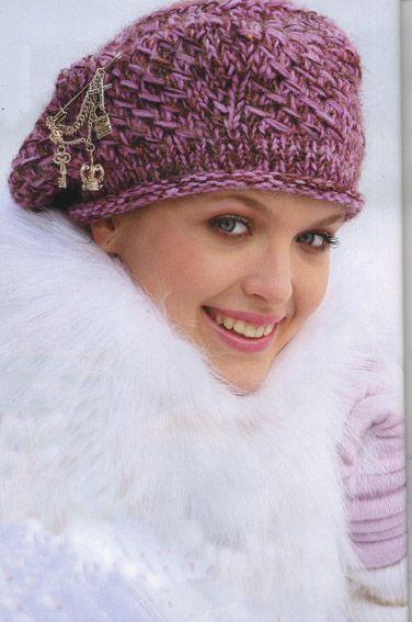 Вязание шапок юбок