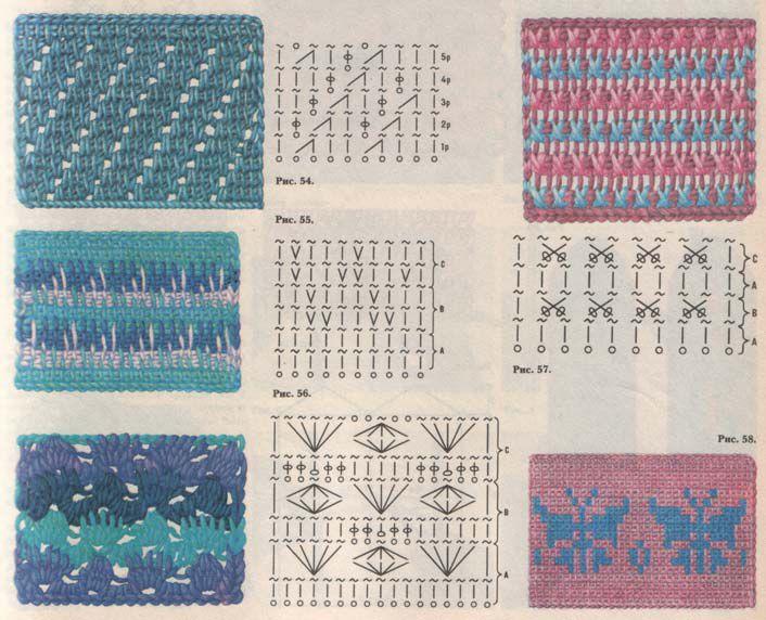 Схемы вязания свитера спицами косички.