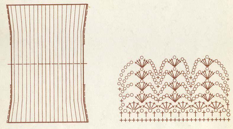 17 марта 2012.  Кофта прямоугольник,фото кофта на пуговицах,вязаные кофты спицами со схемами,кофты филейные.
