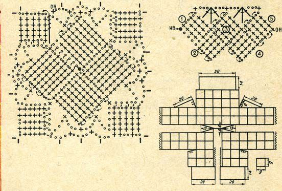 схемы вязаных кофточек спицами