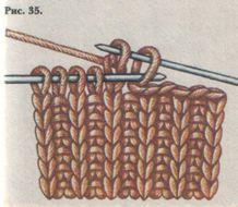 Описание: вязание спицами схемы для начинающих.