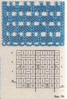 Вязание спицами образцы вязок.