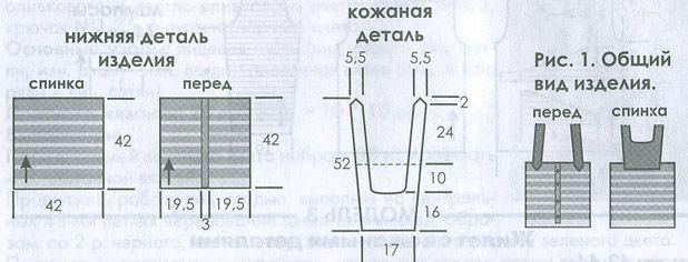 Как спицами обвязать край изделия спицами схемы 187