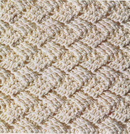 Плетеный узор