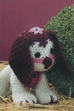 вязание игрушки собачка Гектор