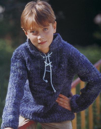 ручное вязание спицами пуловер