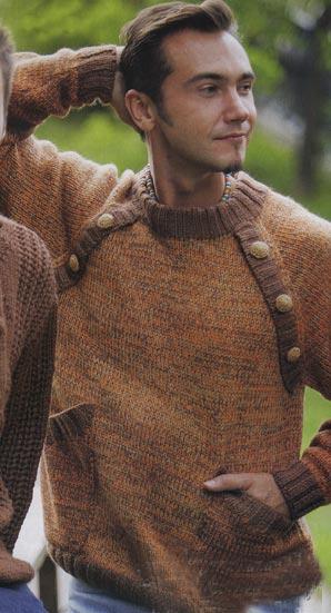 вязание спицами джемпер