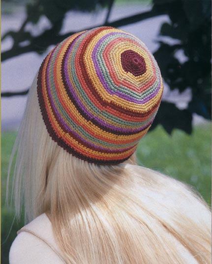різнокольорова шапочка