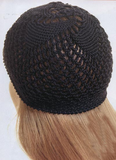 вязание крючком шапочка