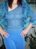Голубой костюм