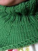 Зеленый воротник-пелерина