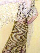 Платье и палантин