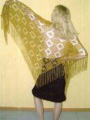 Оливковая шаль