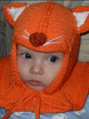 Оранжевая шапочка