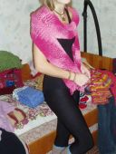Меланжевый шарф