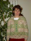 Пуловер с застежкой