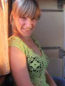 Зеленая кофточка