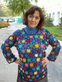 """Пуловер """"Мозаика"""""""
