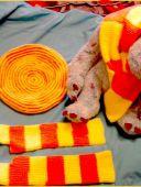 Желто-оранжевый молодежный комплект