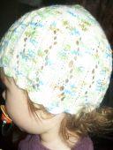 Меланжевая шапочка